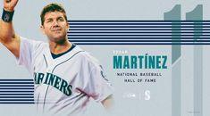 Congrats #11 Edgar Martinez Mariners Baseball, Seattle Mariners, Nationals Baseball, Fan, Baseball Cards, Sports, Hs Sports, Hand Fan, Sport