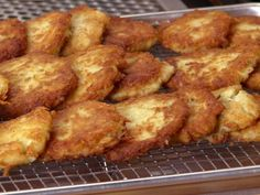 Get Potato Pancakes Recipe from Food Network