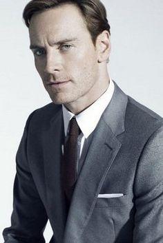Michael Fassbender-- model for Michael Cooper