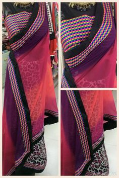 Bollywood Saree, Half Saree, Printed Sarees, Beautiful Saree, Designer Wear, Ethnic, Feminine, Sari, Blouses
