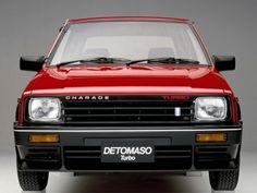 Daihatsu Charade De Tomaso: curiosité italo-japonaise !   Boitier Rouge
