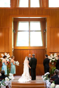 Wedding Ceremony Flowers State Of Georgia Botanical Garden Day Chapel Atlanta