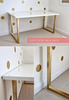 Decorando con dorado - DIY