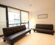 2 Double sofa-beds in lounge Sofa Beds, Couch, London Apartment, Luxury Apartments, Camden, Lounge, Vacation, Bedroom, Modern