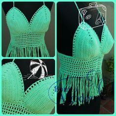 Top Crochet #BonitoAlgodon
