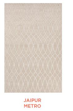Take a look at this Beige Connected Ripple Wool Rug by Jaipur Rugs on today!
