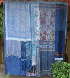 BLUE ENCHANTRESS  Handmade Gypsy Shower Curtain by BabylonSisters, $155.00