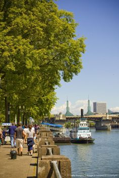Portland, Oregon, River Walk. I will live in Portland one day