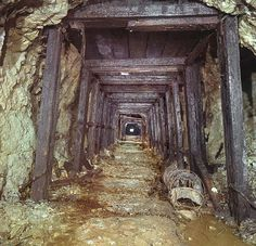 A creepy old mine ... From the Robertson Game Weird West adventure podcast.