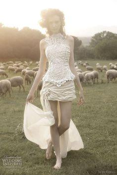 Short and Tea Length Wedding Dresses : Ir de Bundó Wedding Dresses 2012 | Wedding Inspirasi