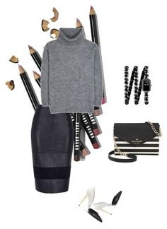 """CLASSIC!"" by maria-laura-correa-da-silva ❤ liked on Polyvore featuring Bobbi Brown Cosmetics, River Island, Yves Saint Laurent, Tom Ford, Chanel and Kate Spade"
