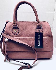 863a07d04a2 Steve Madden BDEX logo Crossbody Satchel Tote Handbag Color Dusty Rose NWT  NEW