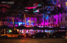 The Clevelander, Ocean Drive, South Beach Miami South Beach Miami, Ocean Drive, Times Square, Neon Signs, Travel, Viajes, Destinations, Traveling, Trips