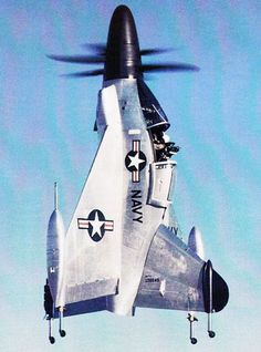 Convair XFY Pogo experimental tail-sitter vertical takeoff and landing (VTOL) aircraft.