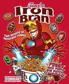 Artists Crystal Bam Fontan aka 'Bamboota' and Elliot Fernandez has created a series of awesome Marvel-themed cereal box illustrations imagining the Avengers, Loki and Groot as fun cereal box mascots. Marvel 3, Marvel Comic Books, Comic Book Characters, Marvel Movies, Comic Character, Baby Marvel, Brand Character, Marvel Funny, Character Design