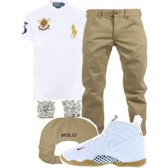 Untitled #52 by crensha3rrw-m4fia e.g. ron Polyvore featuring polyvore, Polo Ralph Lauren, Woolrich, NIKE, men's fashion, menswear and clothing