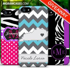 Enter our Monogram Case a Day Giveaway!