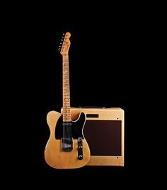 1953 Fender Telecaster and 1953 Fender Deluxe
