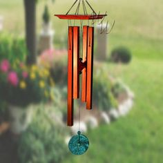 "Woodstock Percussion 26"" Turquoise Chimes Medium"