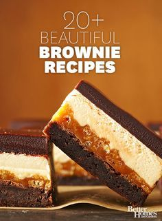 Our favorite brownie recipes will please all of your holiday guests! Try our favorites: http://www.bhg.com/recipes/desserts/chocolate/brownies-and-bars/chocolate-brownie-recipes/?socsrc=bhgpin101813brownierecipes