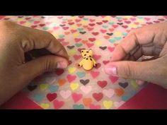 Air Dry Clay, Polymer Clay Tutorial  Learn how to make a cute giraffe charm :D