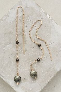 Blackfriar Threaded Earrings #anthropologie