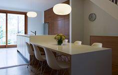 corian keuken-en tafelblad, naadloos