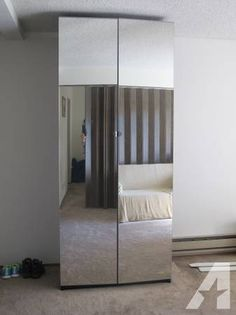 ikeau0027s pax wardrobe with mirror doors 199