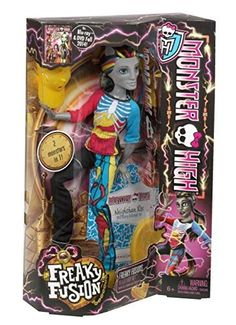 Monster High Freaky Fusion Neighthan Rot Doll via KidzWonderEmporium. Click on the image to see more!