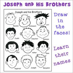 Joseph And His Brothers Activity Sheet