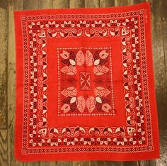Hey, I found this really awesome Etsy listing at https://www.etsy.com/jp/listing/192152547/vintage-1940s-fast-colour-bandana