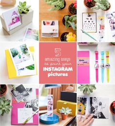 5 amazing ways to print your instagram and phone pictures