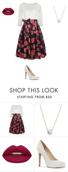 """Tea Time (Wonderland)"" by thegirlinthehood on Polyvore featuring Dogeared, Huda Beauty, Jessica Simpson and teatime"