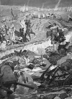 Los de Igueriben mueren pero no se rinden, 1924. Antonio Muñoz Degrain. © Museo de Málaga.munoz_degrain_g.jpg (385×529)