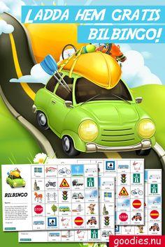 Ibland kan barnen tycka att bilresan blir lite lång. Ipad i all ära men det är också kul att bara titta ut genom fönstret – särskilt om man spelar bilbingo! Road Trip With Kids, Travel With Kids, Creative Activities, Creative Kids, Diy For Kids, Crafts For Kids, Diy Games, Preschool, Projects To Try