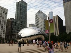 The Bean in Millennium Park, Chicago