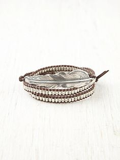 Cohen Birds of a Feather Wrap Bracelet at Free People Clothing Boutique Jewelry Box, Jewelery, Jewelry Accessories, Jewelry Making, Jewelry Ideas, Diy Jewelry, Handmade Jewelry, Fashion Bracelets, Jewelry Bracelets