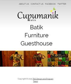 Try Cupumanik.id on your phone! Currently available for Google Chrome support only.