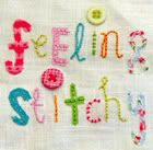 Stitchalongs-What's a stitchalong? Basically, it's just an opportunity for all of us to stitch the same pattern or idea together, and share our work - and it's pretty fun! Here's a list of our previous stitchalongs - don't worry - it's never really too late to join in!