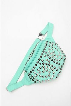 Ecote Studded Fanny Pack - Mint. What a retro thing!