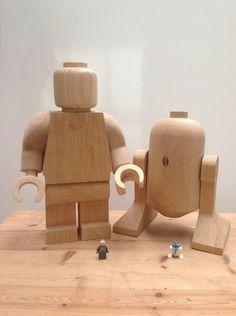 Wooden lego starwars by Ragskin on DeviantArt