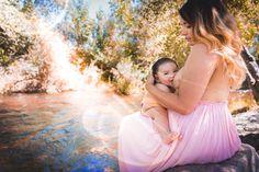 #nursing #breastfeeding #bonding #natural #creek #river #mommy #daughter #breast #nature Nursing Photography, Breastfeeding, Backless, Tulle, Daughter, River, Formal Dresses, Natural, Skirts