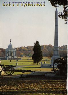 Pennsylvania - This perfectly captures the Battle of Gettysburg. The canons, open field, headstones, and monuments.