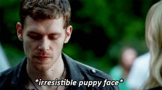But he's also an endearing monster, partly because of his charming face. | 22 Reasons Why Klaus Is An Undeniably Hot Sociopath