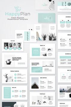 Modern Presentation Keynote Template #Keynote #Presentation #Modern #Template