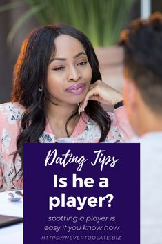 Dating Tips: Do you want to know if he is a player? How to know if he's a player matters to every single woman on the planet. If you've been taken in by a sweet talker find out the signs to watch for. Dating Again, Dating After Divorce, Sweet Talker, Understanding Men, Dating Coach, Relationship Coach, Feminine Energy, Single Women