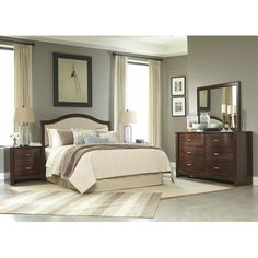 Gentil Signature Design By Ashley Corraya Queen Bedroom Group At Gardiner Wolf  Furniture