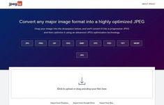 Jpeg.io es una práctica aplicación web, no necesita registro y es gratuita, para optimizar imágenes online de forma rápida y sencilla.