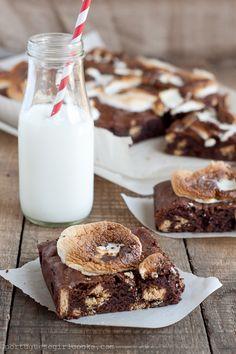 Attn Lauren: S'Mores Brownies