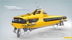 Foil Boat, Chula, Water Toys, Yacht Design, Power Boats, Machine Design, Transportation Design, Rubber Duck, Concept Cars
